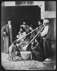بساط جشن و دهل در دوران قاجار