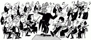 روی شوخطبعانۀ تاریخ موسیقی غرب