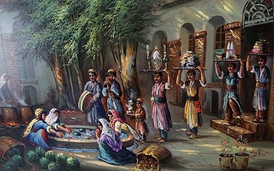 کتاب فرهنگ عامیانه مردم ایران نوشته صادق هدایت
