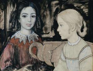 ویولنیست دیوانه برای دخترک خسته قصه میگوید