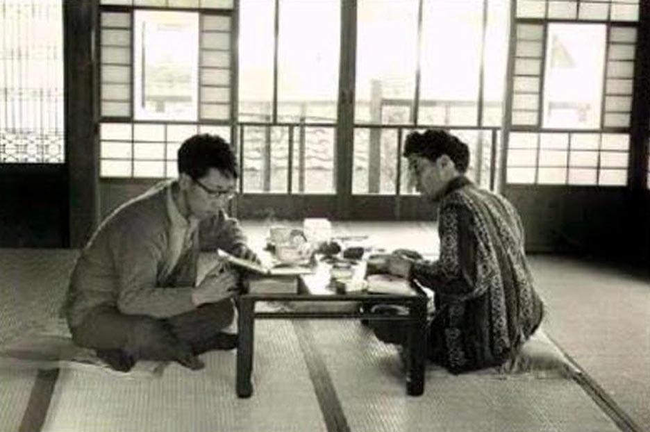 سهراب سپهری همخانه ژاپنی