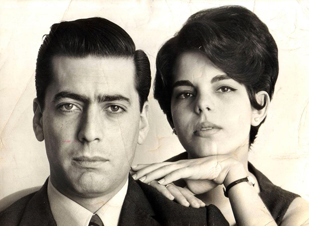 ماریو بارگاس یوسا و همسر دومش پاتریسیا یوسا