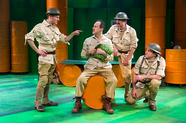 نمایشنامه آدم آدم است از برتولت برشت